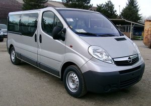 Vauxhall Vivaro people carrier