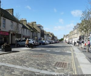 St Andrews medieval town centre