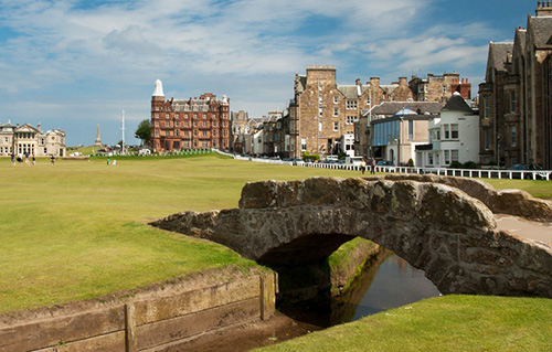 swilken bridge st andrews golf course