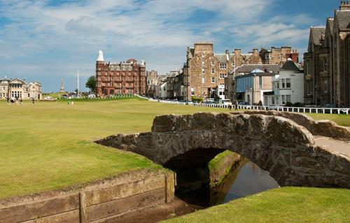 swilken bridge st andrews golf course