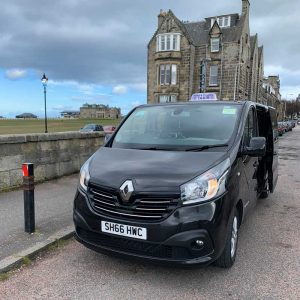 renault trafic taxi in st andrews